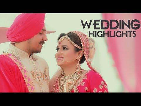 Punjabi Wedding Highlights 2018 | Indian Destination Wedding | Om Photography
