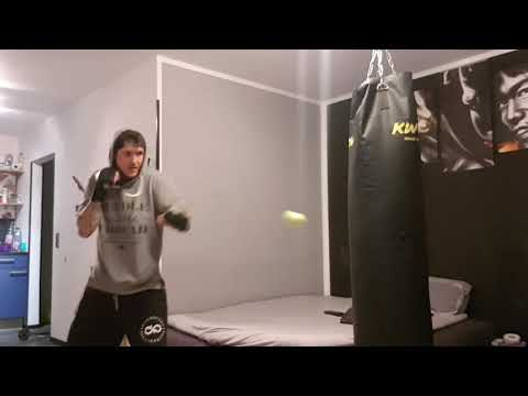 Michael Braun tkd - tennis ball boxing training