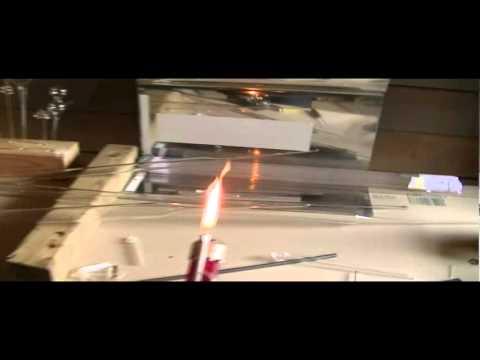 beginners glass blowing setup - YouTube