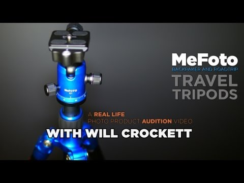 A Real Life MeFoto Tripod Audition and Review.