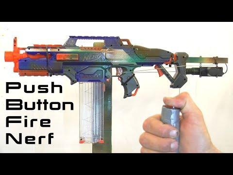 How to Make an Auto Nerf Trigger System 'Colin Furze Book Project #1'