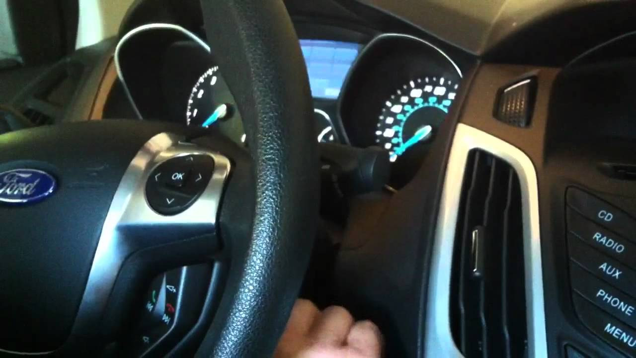 2012 Ford Focus Starting Problem Youtube