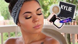 Makeup tutorial (new eyelash extensions)