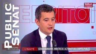 Gérald Darmanin dément la fermeture d'un centre des impôts sur deux d'ici 2022
