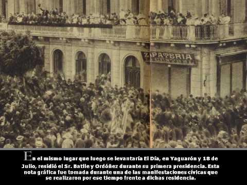 Primera Presidencia de José Batlle y Ordóñez 04/12