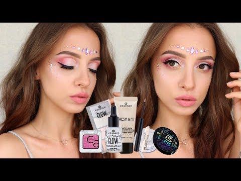 Festiwalowy Makijaż Test Nowości Youtube
