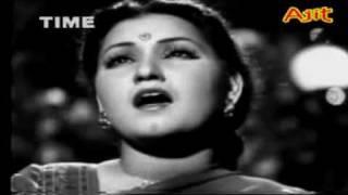 YASIRJEE-Awaz de kahan hai - Noor Jehan & Surendra in Anmol Ghadi.flv