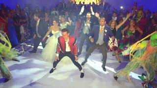 Baile Michael Jackson y Flash Mob Thriller/ Boda