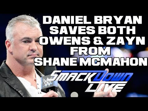 WWE Smackdown 11/21/17 Full Show Review: DANIEL BRYAN SAVES BOTH KEVIN OWENS AND SAMI ZAYN