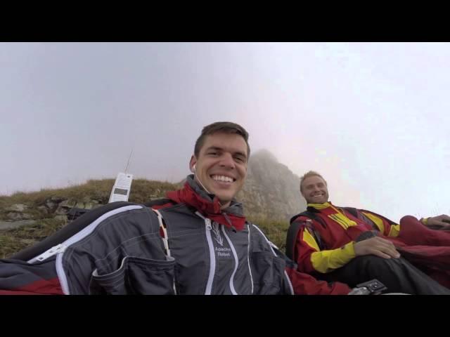 Wingsuit Proximity Kevin & Bean Show