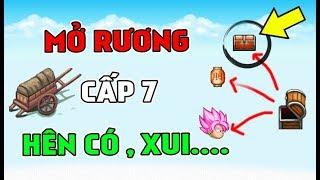 Ngọc Rồng Online - Mở Rương Cấp 7 Lấy AVATAR | Hên Hay Xui !!