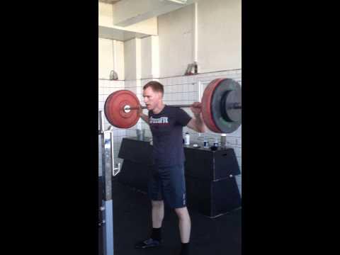Back Squat 3 x 110kg @ Butcher's Lab Copenhagen.