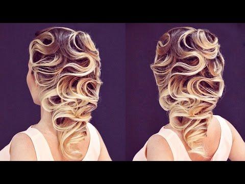 Hairstyle for medium hair - Причёска - Волны. Преподаватель: Роговая Е.М. - Hairstyles by REM