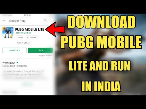 How To Download And Run Pubg Mobile Lite In India Hindi