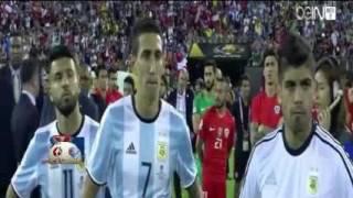 لحظات تتوييج تشيلي بكاس كوبا امريكا 2016 بعد الفوز على الارجنتين بركلات الترجيح 4- 2