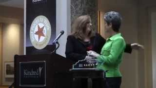 KPPC presents the KYSEN Level Five Award to Kindred Healthcare