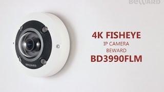 Обзор 4K Fisheye IP-камеры BEWARD BD3990FLM, уличная, настенный режим
