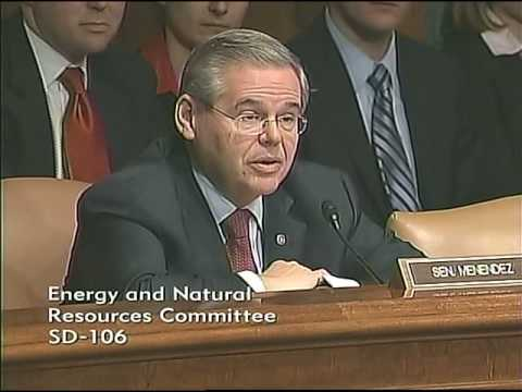 Menendez on Steven Chu Confirmation