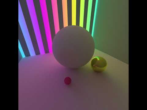 real-time path tracing: vulkan and c++