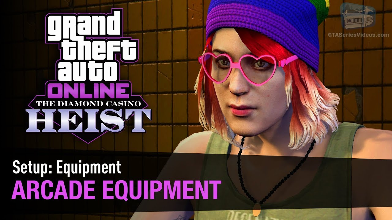 GTA Online The Diamond Casino Heist - Setup: Equipment Arcade