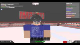 TNA Wrestling Roblox Style: Jeff Hardy Attack on Matt Morgan
