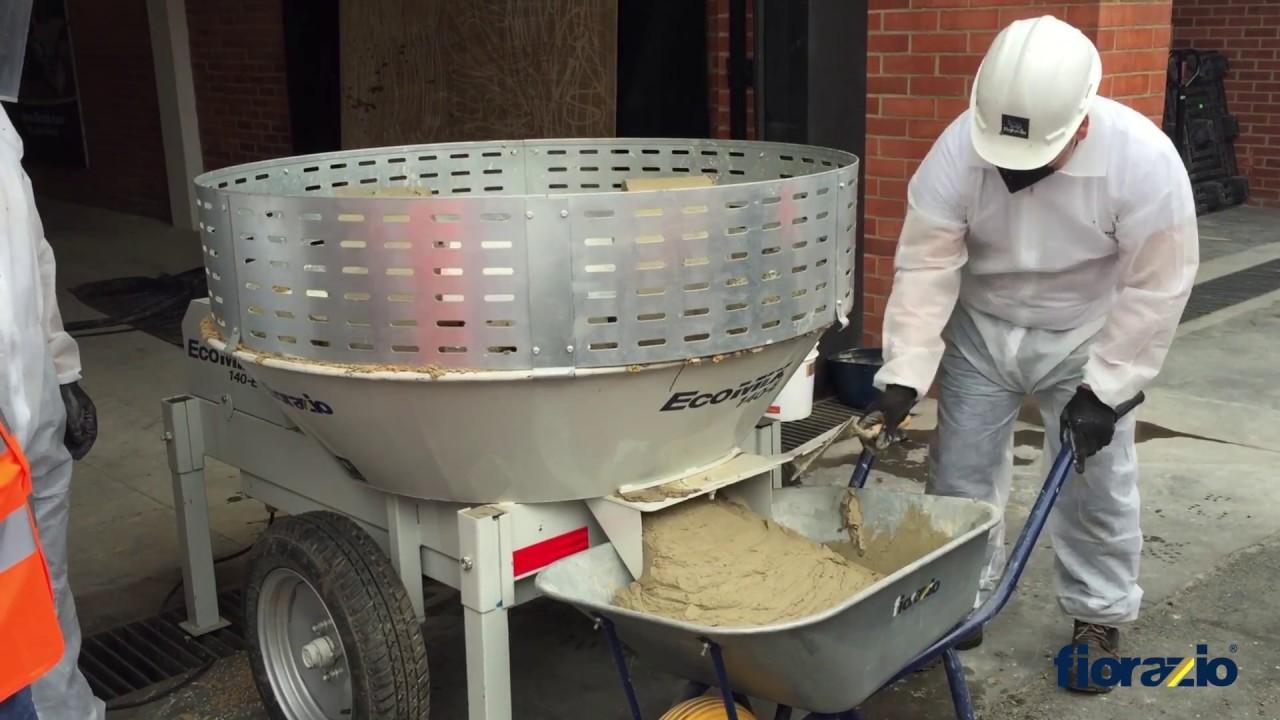 Recicladora y mezcladora de morteros ecomix youtube - Mezcladora de mortero ...