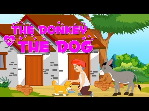 English Short Stories For Kids | The Donkey And The Dog | Funny