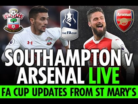 Southampton vs Arsenal Live Stream - YouTube