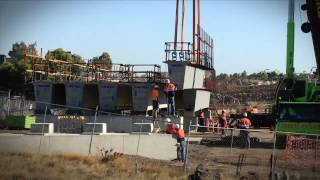 Regional Rail Link: Beam Lifts At Lollypop Creek Bridge