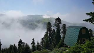 Первозданная природа выше облаков.Primeval nature is higher than the clouds.