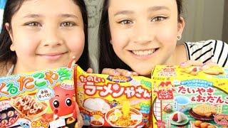 Popin' Cookin' met de KittySisters! | Octopusballs | Noodles | Maaltijd