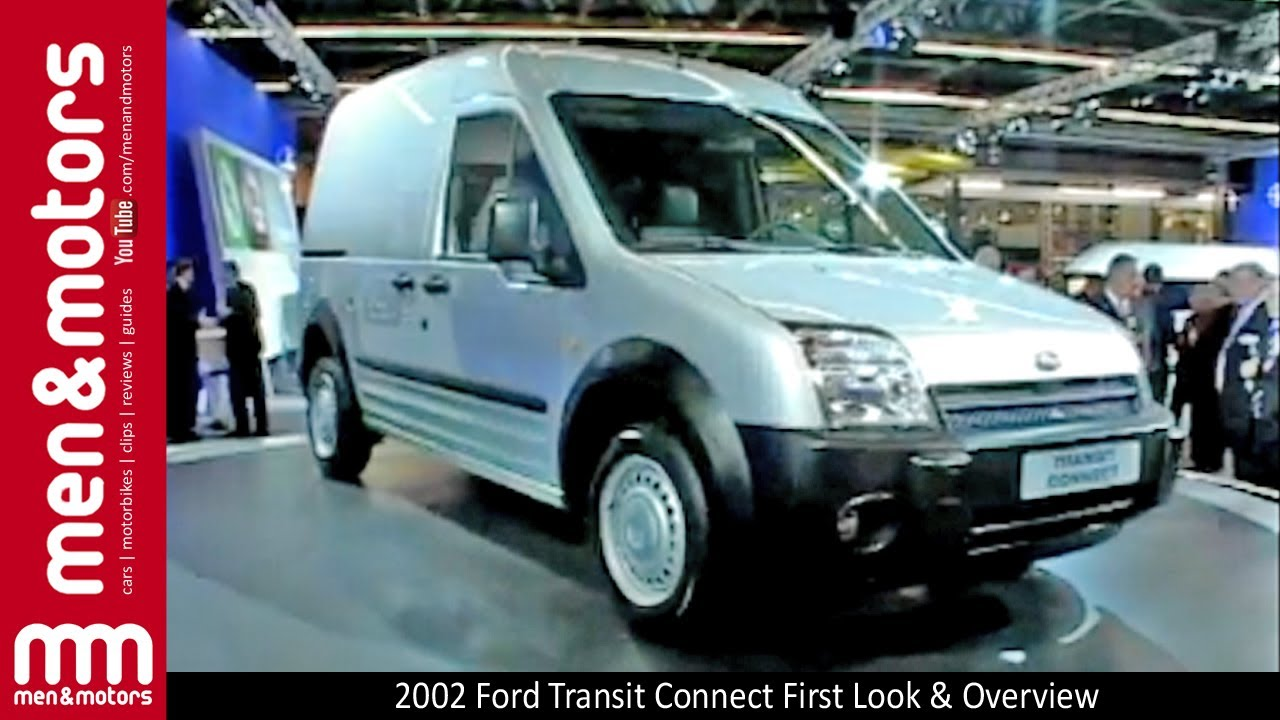 2002 Ford Transit Connect First Look & Overview