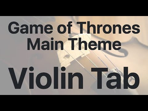 Learn Game Of Thrones Main Theme On Violin - How To Play Tutorial