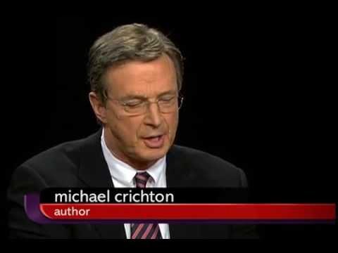 Michael Crichton in Charlie Rose 2007