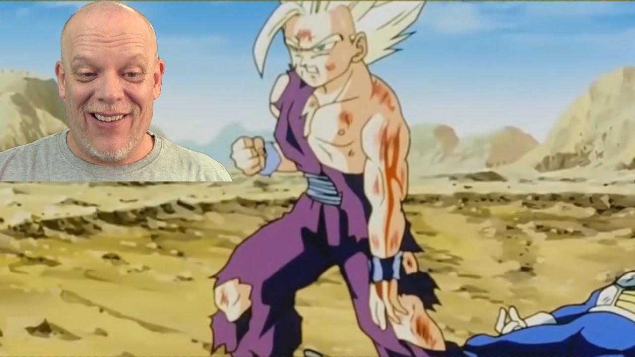 Dbz-gohan vs cell {full fight}.