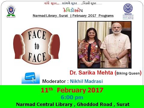 Face To Face With Dr  Sarika Mehta