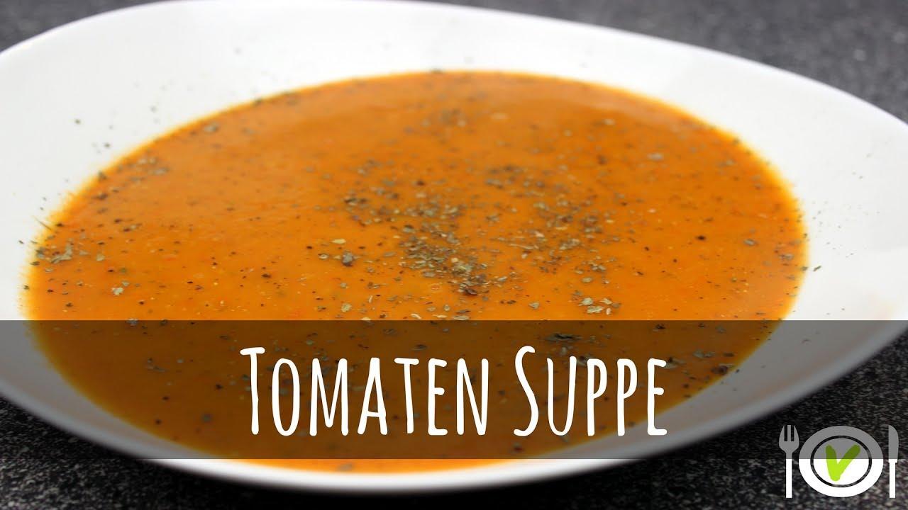 suppe zum abnehmen rezept, abnehmen rezept: leckere tomaten suppe | hauptmahlzeit | vegan - youtube, Design ideen