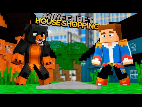 Minecraft - Donut the Dog Adventures -BUYING A REALLY COOL MANSION!!
