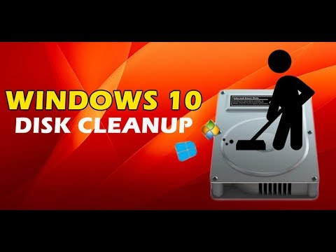 How to do a disk cleanup on Windows 10