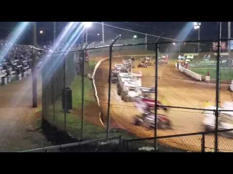 Ryan Quackenbush Lincoln speedway feature 4.15.17