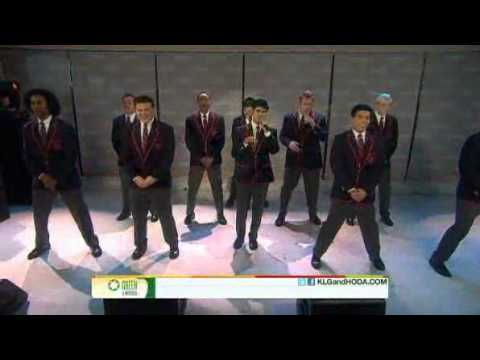 Warblers - Raise Your Glass on the Today Show