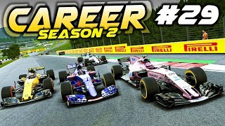 F1 2017 Career Mode Part 29: FIGHTING THROUGH THE FIELD