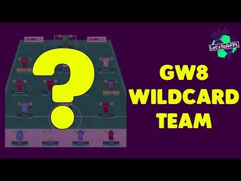 WILDCARD TEAM | GAMEWEEK 8 | Fantasy Premier League 2017/18