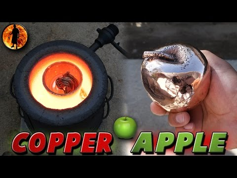 Thumbnail: Casting A Solid 5 Pound Copper Apple