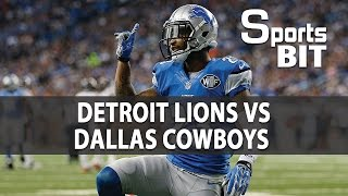 Detroit Lions vs Dallas Cowboys Week 16 | Sports BIT | NFL Picks & Preview