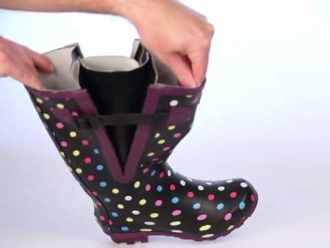 Jileon Wide Calf Wellies Youtube