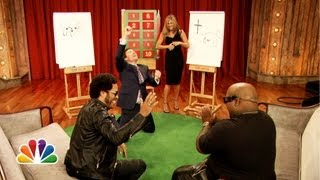 Pictionary with Jennifer Aniston, Lenny Kravitz and CeeLo Green, Part 2