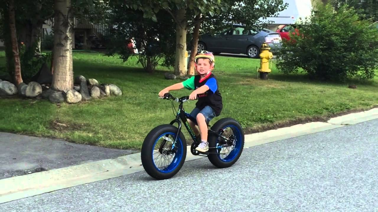 20150729 Kids Fatbike Youtube