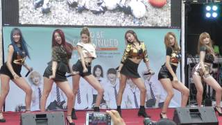 150815 HELLOVENUS _ 난 예술이야 (I'm ill) / ホンデ路上ライブ / 4K fancam by DISK611 thumbnail