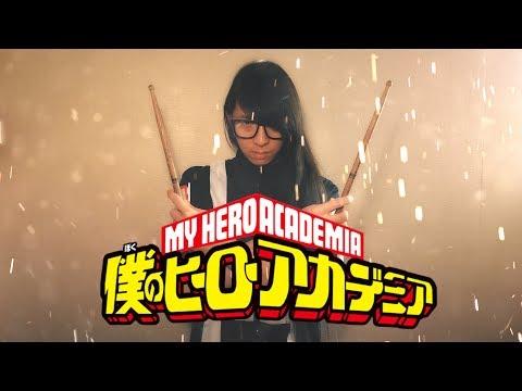 【僕のヒーローアカデミア第2期】米津玄師 - ピースサインを叩いてみた / Boku No Hero Academia Season 2 Opening Full Drum Cover